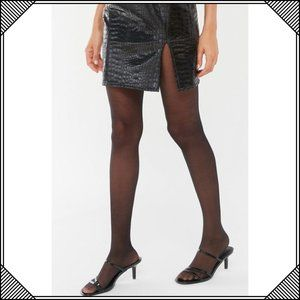 * Sheer Basic Tights Black Noir * Urban Outfitters